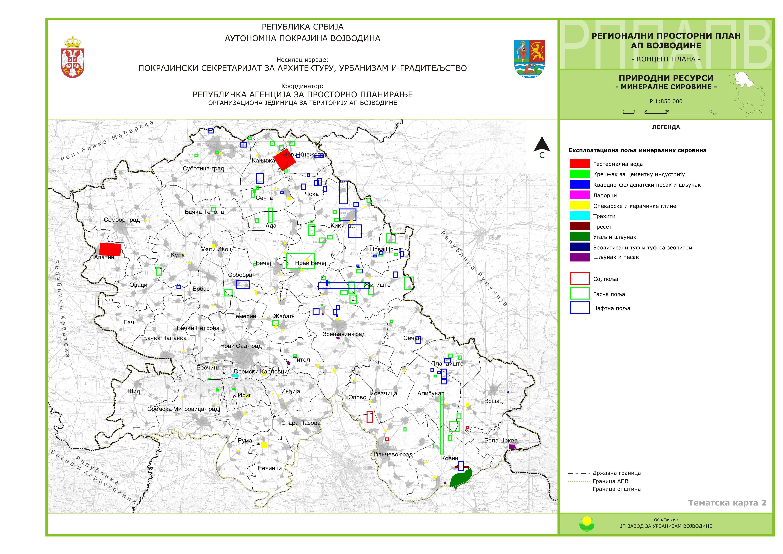 vode vojvodine mapa JP Zavod za urbanizam Vojvodine   News vode vojvodine mapa