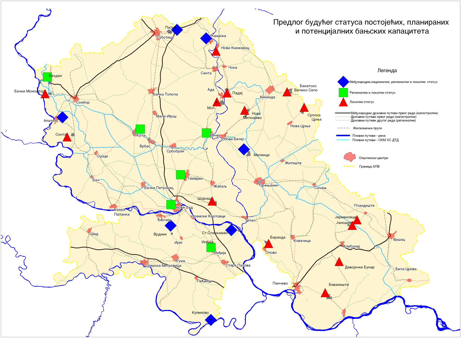 turisticka karta vojvodine JP Zavod za urbanizam Vojvodine   Studije turisticka karta vojvodine