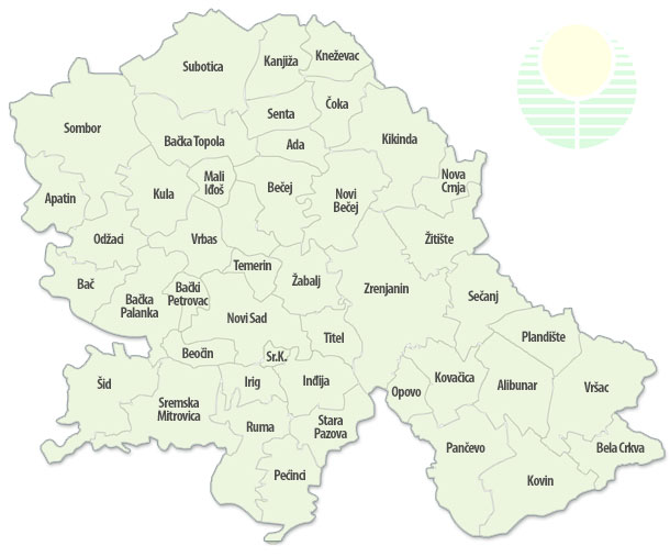 Karta Vojvodine Po Opstinama Superjoden