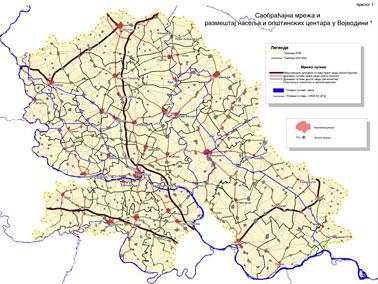 auto karta vojvodine sa kilometrima JP Zavod za urbanizam Vojvodine   Studies auto karta vojvodine sa kilometrima